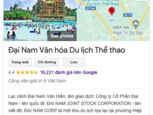 KDL-Dai-Nam-cua-ba-Phuong-Hang-nhan-bao-5-sao-tren-Google-Maps