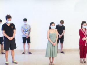 Bắc Ninh 9 thanh niên tụ tập sử dụng ma tuý bất chấp dịch đang phức tạp