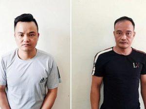 Hai anh em ruột bị bắt vì lấy trộm điện thoại