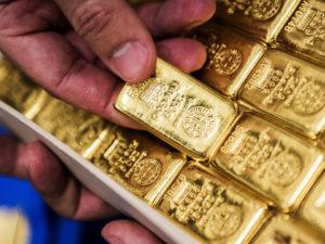 Giá vàng tụt dốc ngày 16/6/2021