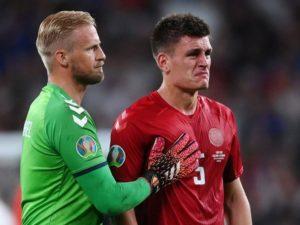 Báo chí Đan Mạch rơi lệ sau thất bại của đội nhà trước tuyển Anh