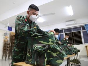 Quân đội rút dần lực lượng hỗ trợ tại TP HCM