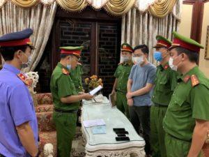 Chủ tịch công ty bất động sản tại Thừa Thiên Huế bị bắt